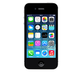 Apple iPhone 4S 16 GB schwarz