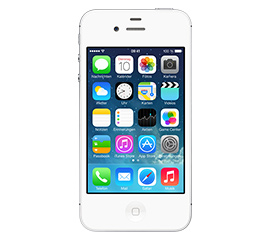 Apple iPhone 4S 16 GB weiss +