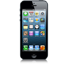 iPhone 5 16 GB Schwarz & Graphit