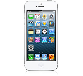 iPhone 5 16 GB Wei� & Silber