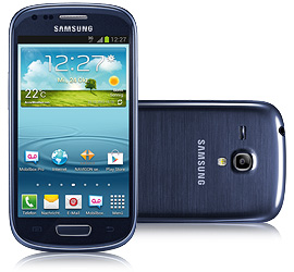Samsung Galaxy S III mini blau