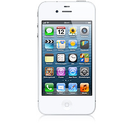 Apple iPhone 4 8 GB wei�