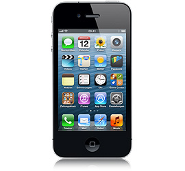 Apple iPhone 4 8 GB schwarz