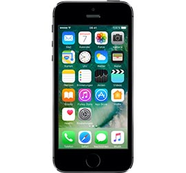 iPhone 5s 16 GB Spacegrau