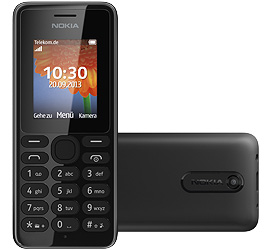 Nokia 108 + Special Complete Mobil Music mit Handy
