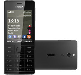Nokia 515 + Special Complete Mobil Music mit Handy
