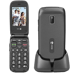 Doro PhoneEasy 612 + Special Complete Mobil Music mit Handy