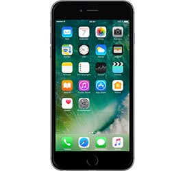 Apple iPhone 6 Plus 64 GB spacegrau