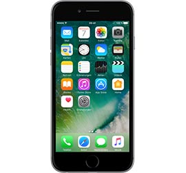 Apple iPhone 6  16 GB spacegrau