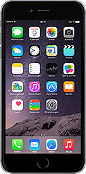 iPhone 6 plus 16 GB Spacegrau