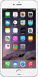 iPhone 6 plus 16 GB Silber