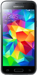 Samsung Galaxy S5 mini blau