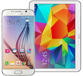 Samsung Galaxy S6 32 GB wei�