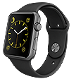 Apple Watch Sport 42mm schwarz