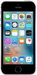 Apple iPhone SE 16 GB Space Grau