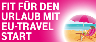 Fit f�r den Urlaub mit EU-Travel Start