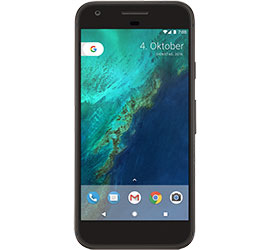 Image of Google Pixel 32 GB (Anthrazit) + MagentaMobil L Plus mit Top-Handy Premium + Sprachnachrichten direkt auf dem Smartphone in beliebiger Reihenfolge abrufen.
