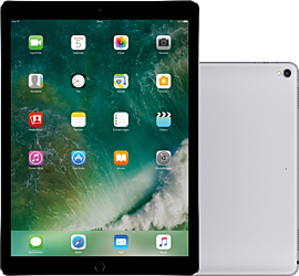 Image of Apple 12,9´´ iPad Pro (2.Gen) Wi-Fi 64 GB Space Grau + Data Comfort L Friends Premium