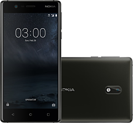 Image of Nokia 3 (SCHWARZ) + MagentaMobil L Plus mit Top-Handy Premium + Sprachnachrichten direkt auf dem Smartphone in beliebiger Reihenfolge abrufen.